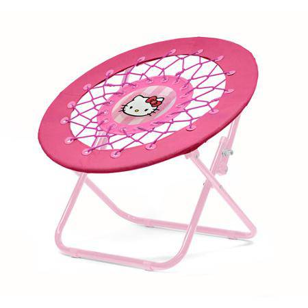 Bon Key Features: Hello Kitty Picture, Steel Tube, And Canvas Seat.