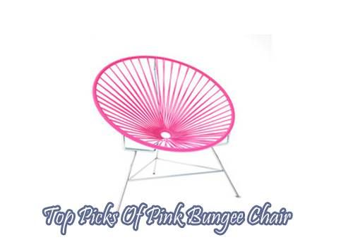 Top Picks Of Pink Bungee Chair