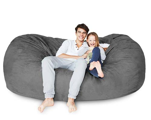 Lumaland-Luxury-7-Foot-Bean-Bag-Chair