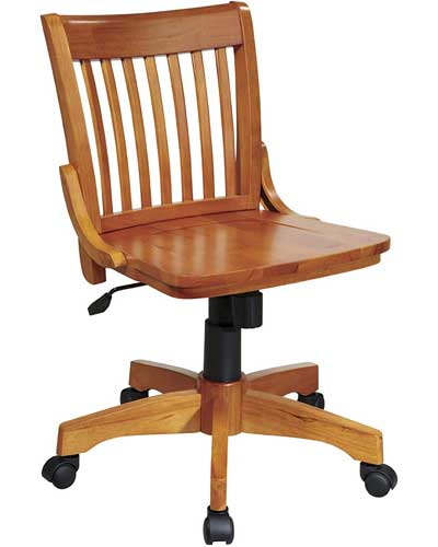 Armless-Wooden-Bankers-Chair-1-1