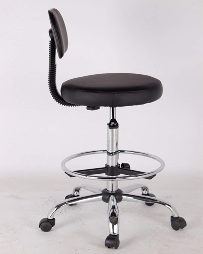EZ Office Caressoft Drafting Stools with Footring