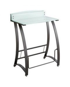 Echowalt Standup desk with Footrest Bar