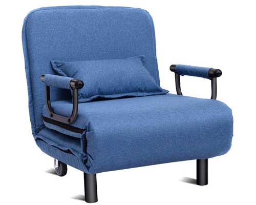 Giantex-Convertible-Sofa-Bed-Folding-Arm-Chair