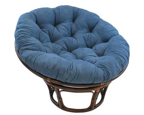 Microsuede-Papasan-Chair-Cushion