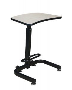 Regency Standup Desk with Footrest Bar