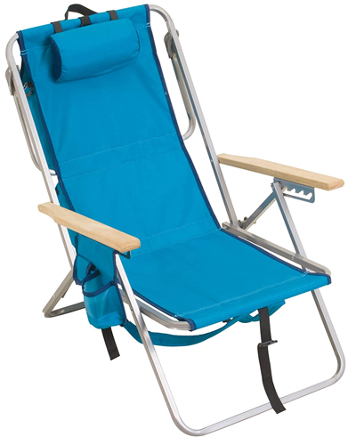 Rio Deluxe 5 position LayFlat Backpack Chair