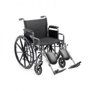 Self Transport Folding Wheelchair by MedMobile