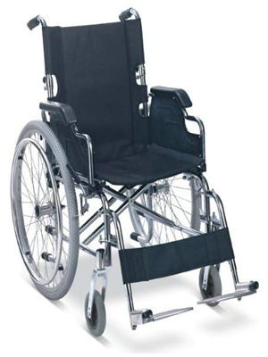 Self Transport Folding Wheelchair