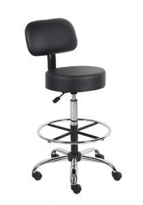 Boss Office Products B16245-BK standing Desk Chair