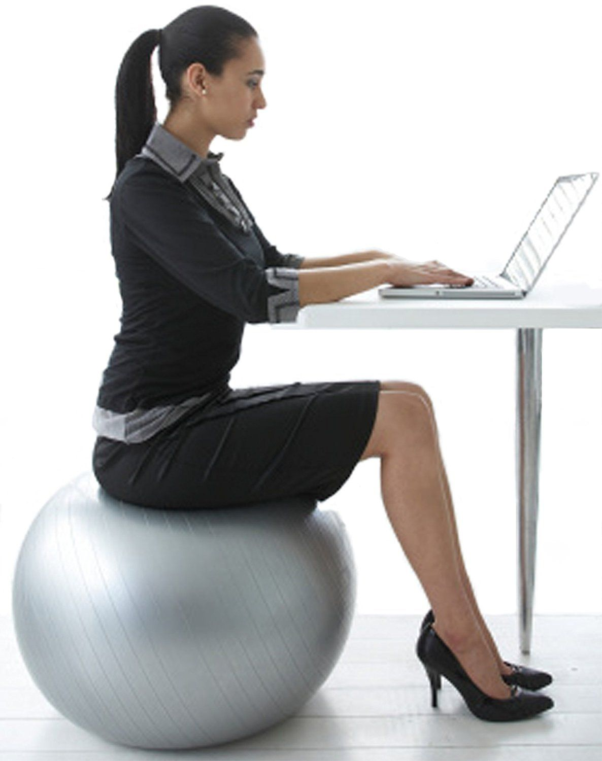 Yoga ball chairs balance ball for stability guide review for Furniture yoga