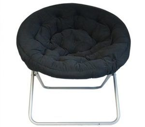 Comfort Padded Moon Chair by DormCo