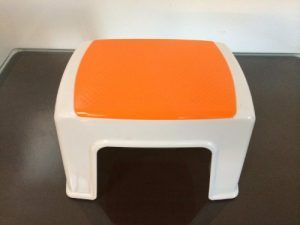 Fataco - Durable Plastic Light Weight Kids Stacking Chairs Stool Step