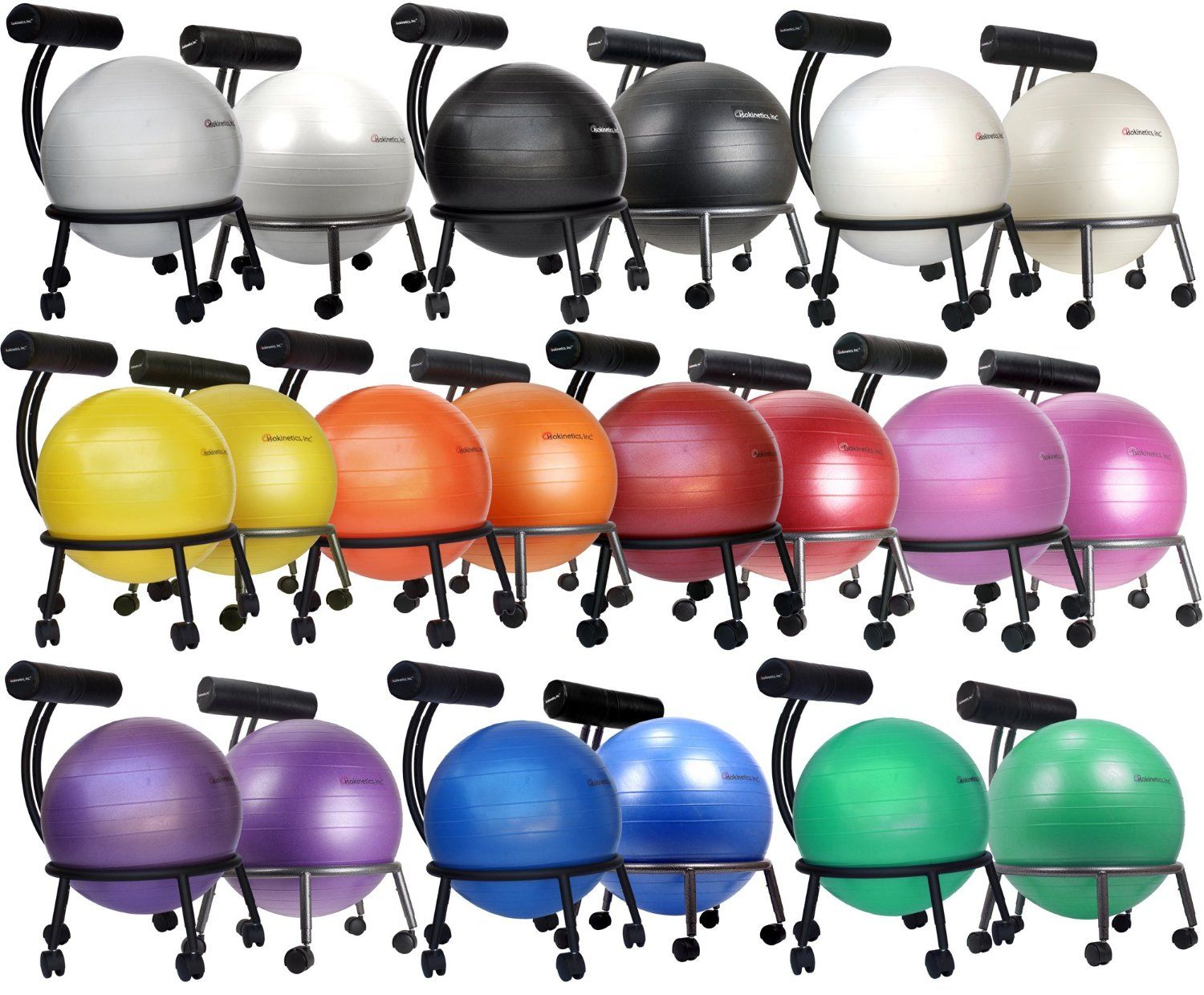 Fitness Yoga Ball Chair from Isokinetics