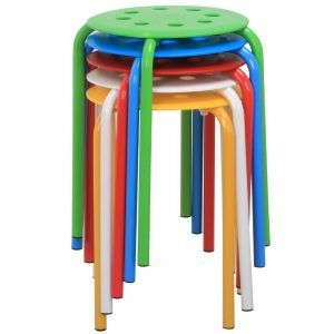 Light Weight Amp Durable Plastic Stack Stools Classroom Review