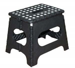 Folded Step Stool With Handles Amp Rails Toddlers Kids