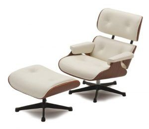 Miniature Lounge Chair and Ottoman