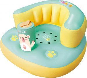 Nai-B Hamster Inflatable Baby Seat Mint