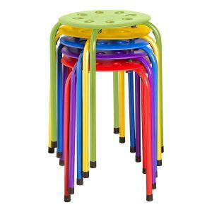 Norwood Commercial Furniture NOR-1101AC-SO Plastic Stack Stools