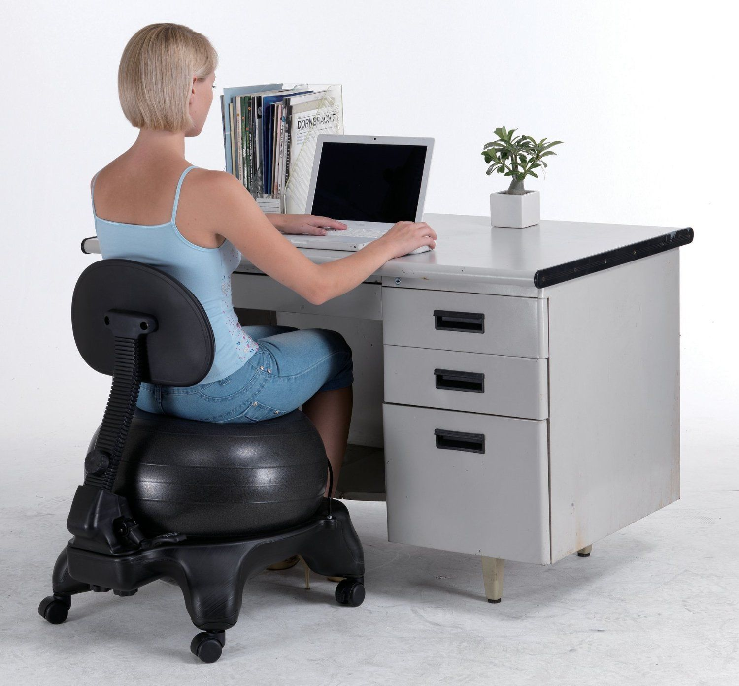 Yoga Ball ChairsBalance Ball For Stability Guide  Review - Ball chairs for office