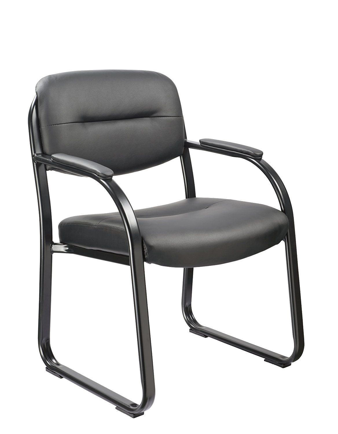 Vinyl guest chairs from Office Factor