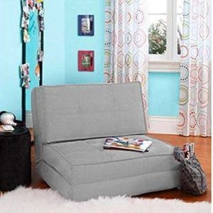 Your Zone Bed - Flip Chair Convertible Sleeper Dorm Bed Couch
