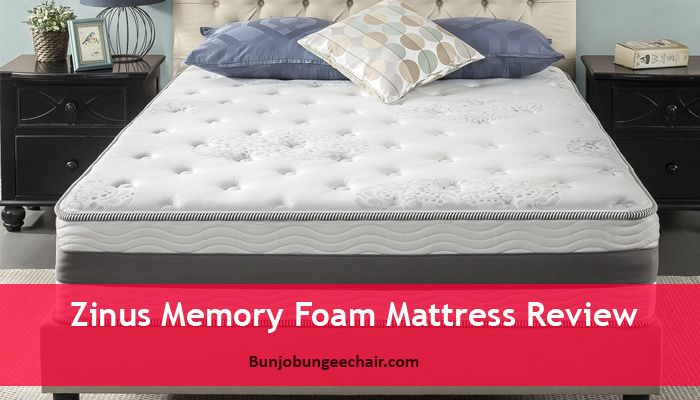 Zinus Memory Foam Mattress Review Buy 7 Best Bunjo