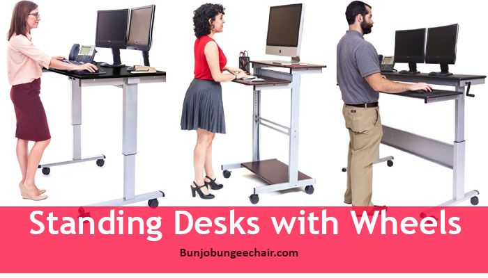 Standing Desks With Wheels 187 Furniture Reviews