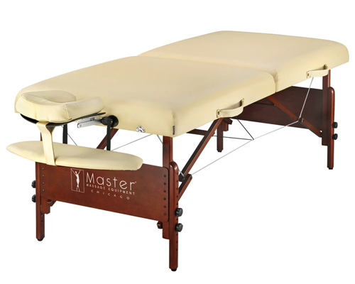 Master Massage Portable Sand Color Massage Table