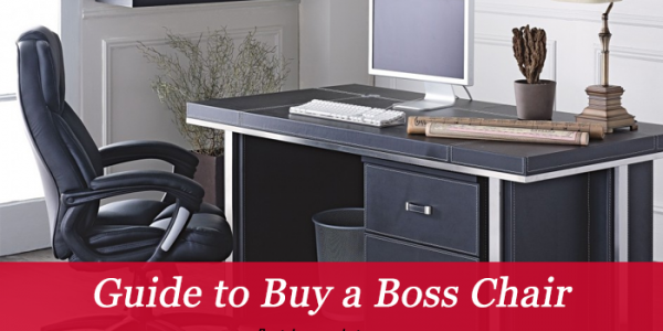How to Choose the Most Comfortable Boss Chairs for Office
