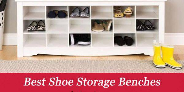 TOP 10 Shoe Storage Benches Reviews in 2020