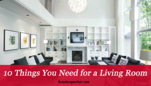 10 Things You Need for a Living Room