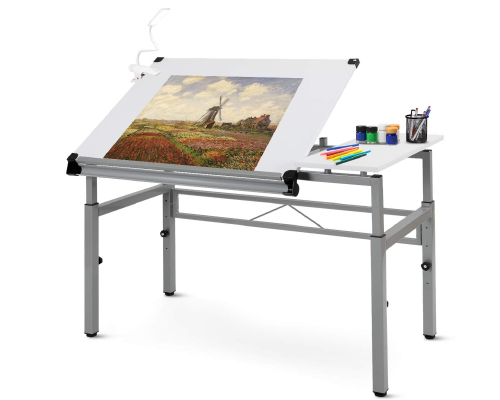 Tangkula Desk Folding Drafting Table