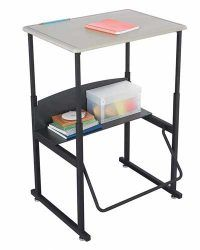 Standup-Desk-along-with-the-Swinging-Footrest-Bar